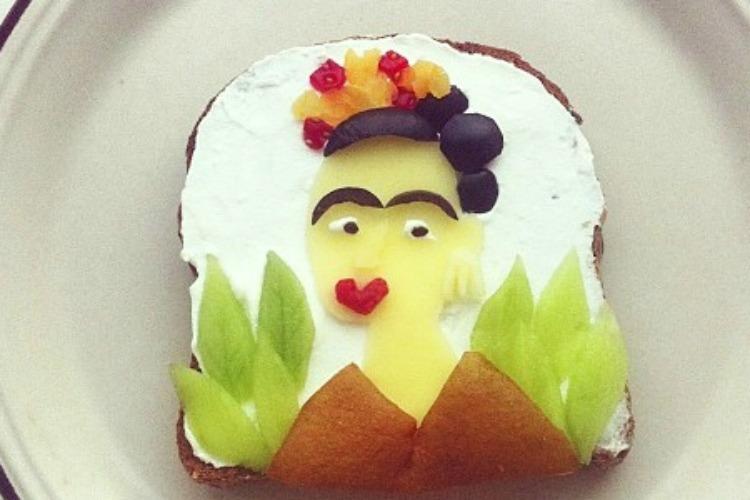 Il toast dedicato a Frida Khalo