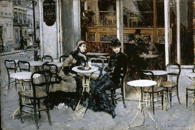 Conversazione al caffè Boldini (1)